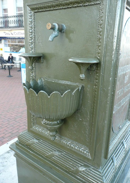 Curling Drinking Fountain, Eastbourne