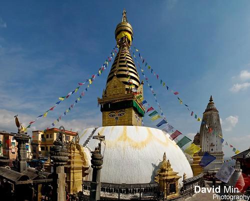 Kathmandu, Nepal - Swayambhunath Temple by GlobeTrotter 2000