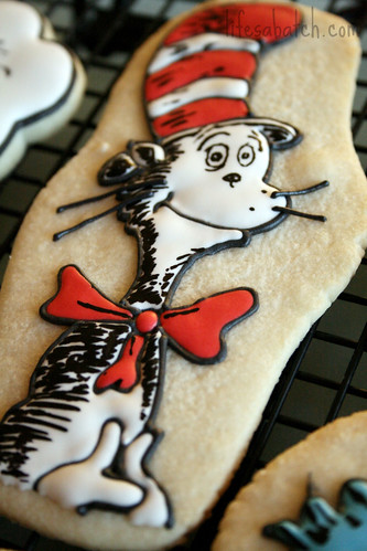Cat in the Hat Cookie.