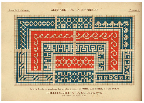 013-Alphabet de la Brodeuse1932- Thérèse de Dillmont
