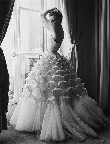 Vintage Couture Gown