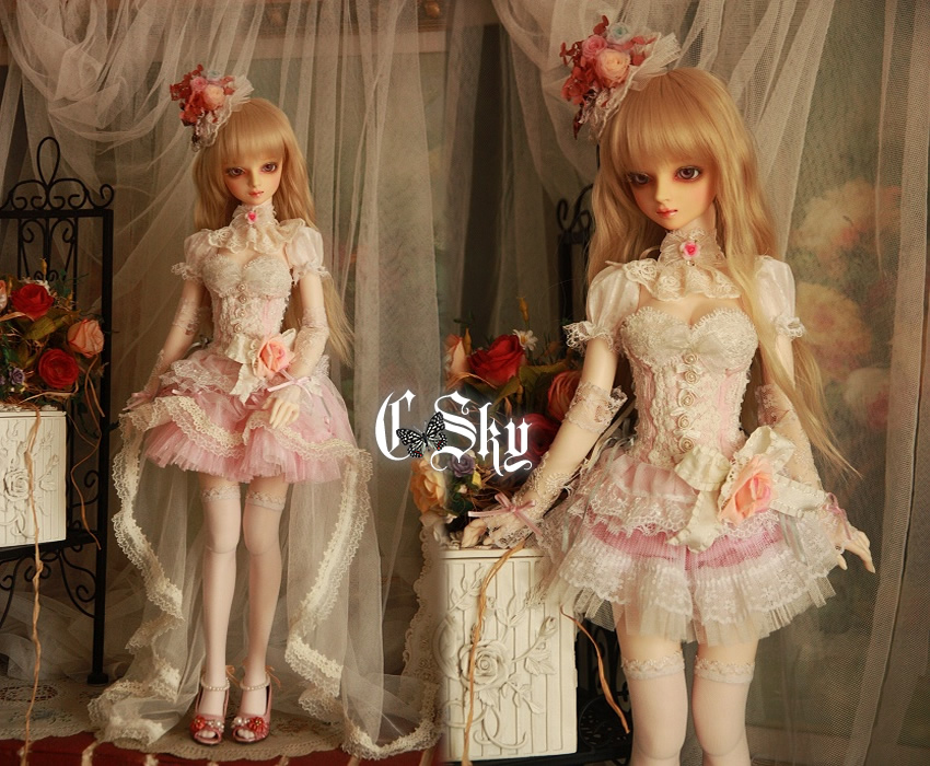 【Work】+ C-Sky + 13Sd/Gr/DD ML少女用洋服~Pinky Lady~ - hidari - + Crystal Sky +