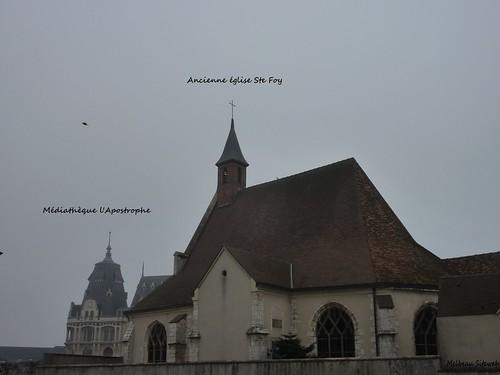 Chartres : L'Apostrophe & Ste Foy