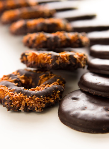 Girl Scout Cookies - Thin Mints & Samoas