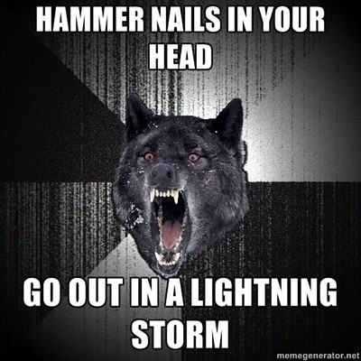 insanity wolf nails lightning