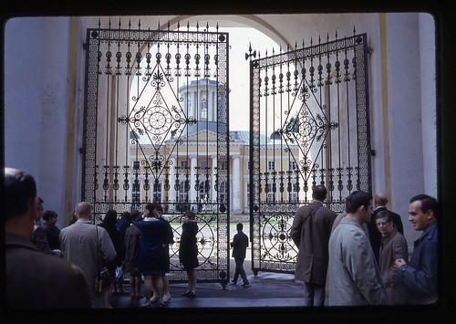 Gates of the Grand Palace, Moscow, 1969