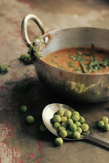 4 LoveFoodEat-Spicy Peas Indian Curry Kadai