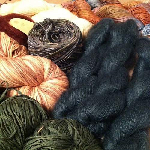 Saturday yarn spoils