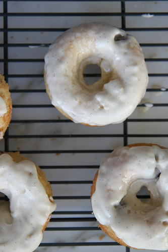 blueberry cream donuts