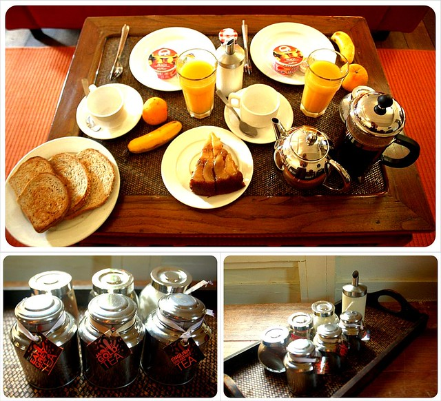 breakfast at temple tree langkawi
