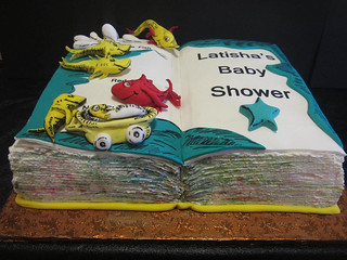 Dr. Suess inspired cake