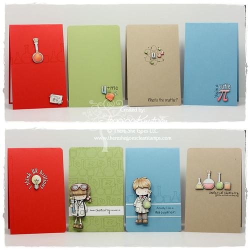 Cutie Pie cards