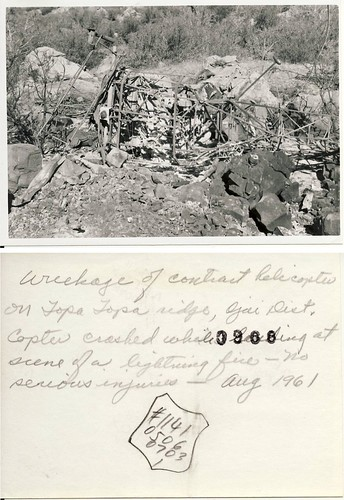 Topatopa Ridge Helicopter Crash, August 1961