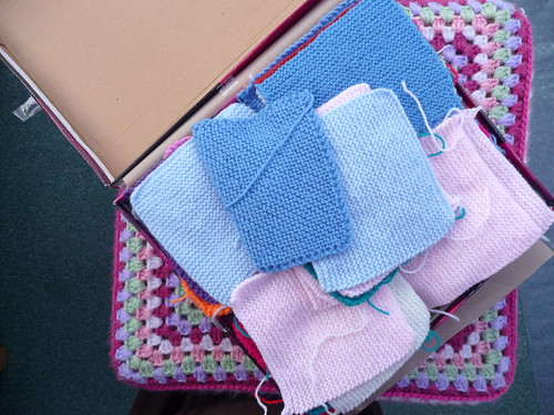 Diana & 'Yate Knitwits' (UK) Your Squares arrived today! Thank you so...much!