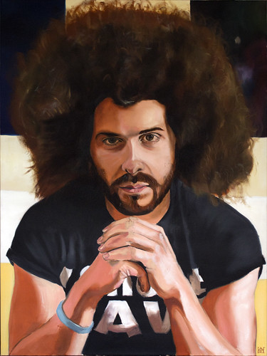 The Fro - Oil on Canvas - 36in x 48in (HD)