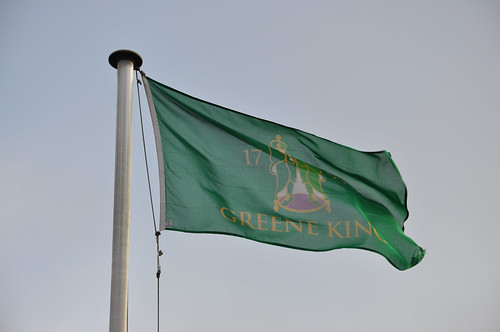 Greene King Brewery flag