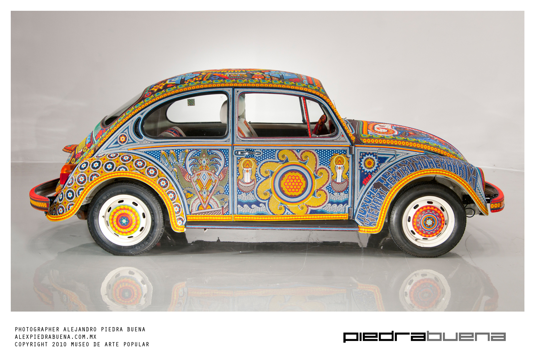 Vochol:Huíchol Art on Wheels