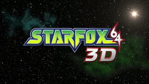 Starfox 64 3D - logo