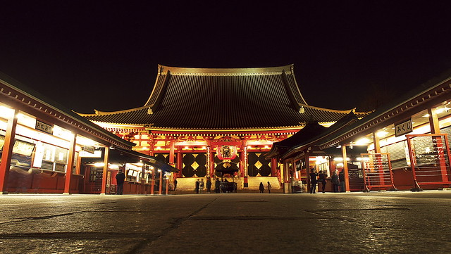 Night Asakusa Temple