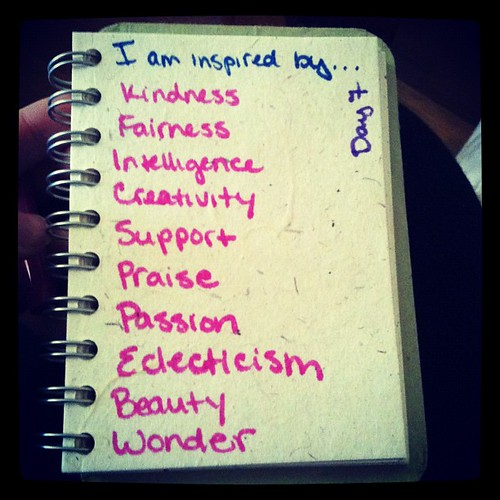 #day7 #30lists I am inspired by...