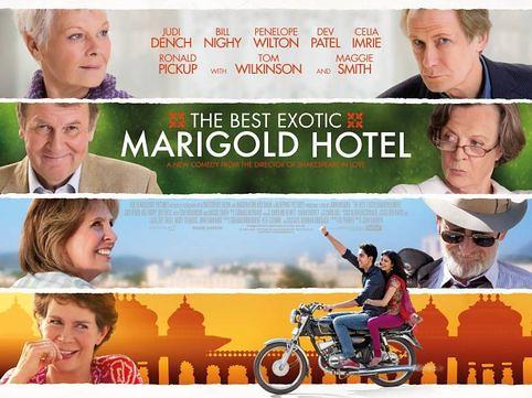 EL EXOTICO HOTEL MARIGOLD o la jubilación como final by LaVisitaComunicacion
