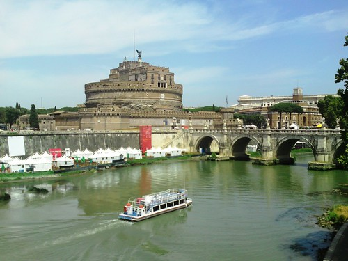 Castel & Ponte Sant' Angelo (20) by chris kats