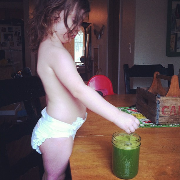 My juicing partner.