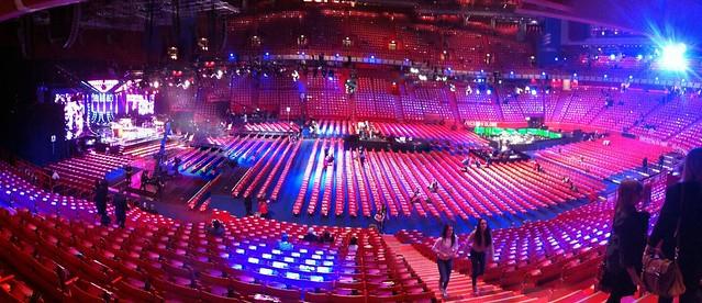 Before Melodifestivalen 2012, Globen