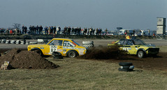 demolition derby(0.0), auto racing(1.0), automobile(1.0), rallying(1.0), racing(1.0), vehicle(1.0), stock car racing(1.0), sports(1.0), race(1.0), banger racing(1.0), dirt track racing(1.0), off road racing(1.0), motorsport(1.0), off-roading(1.0), rallycross(1.0), race track(1.0),