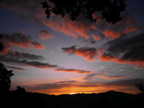sunset clouds atardecer colombia nubes medellin antioquia