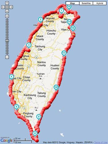 Circuit of Taiwan