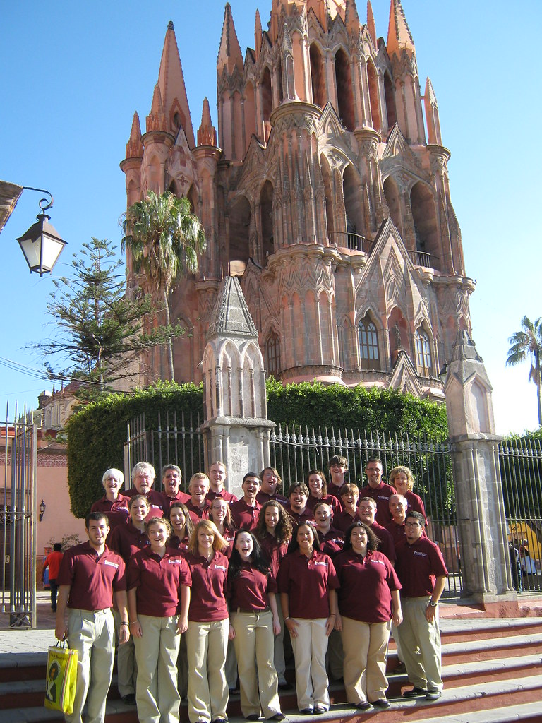 Fairmont State University Collegiate Singers at La Parroquia in San Miguel de Allende