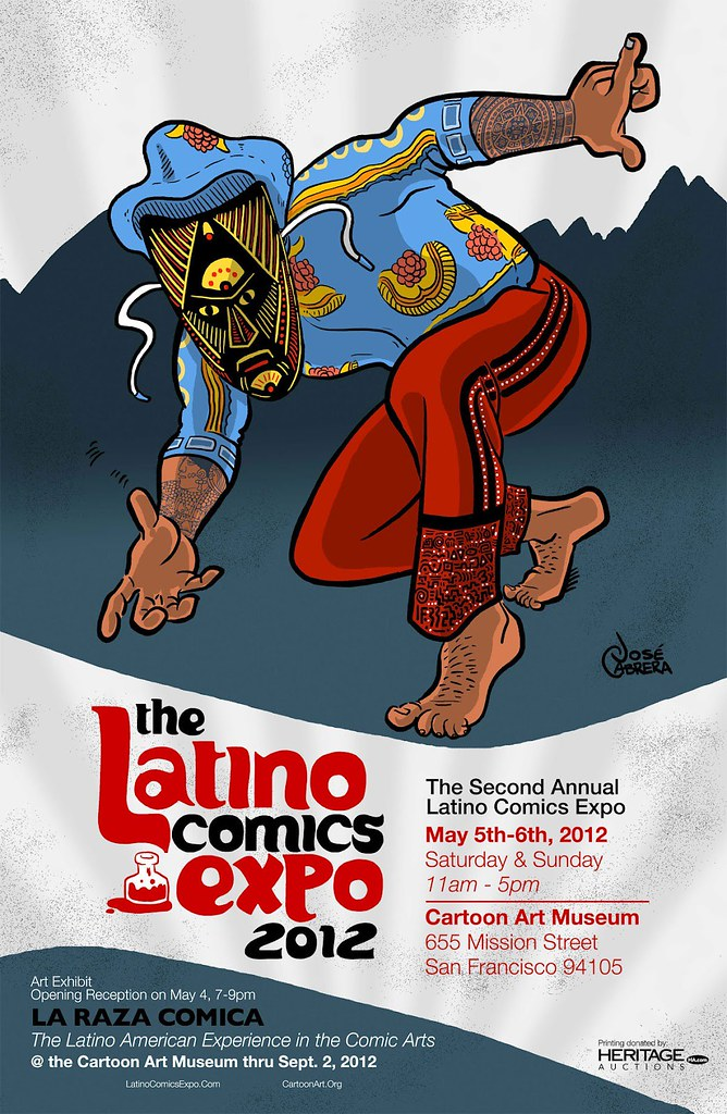 Mario Hernandez at the Latino Comics Expo