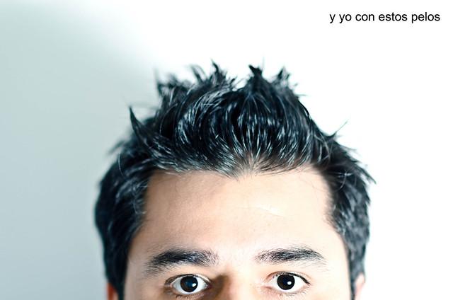 165/366: y yo con estos pelos