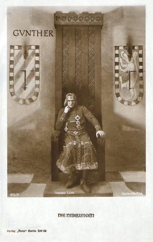 Die Nibelungen, Gunther