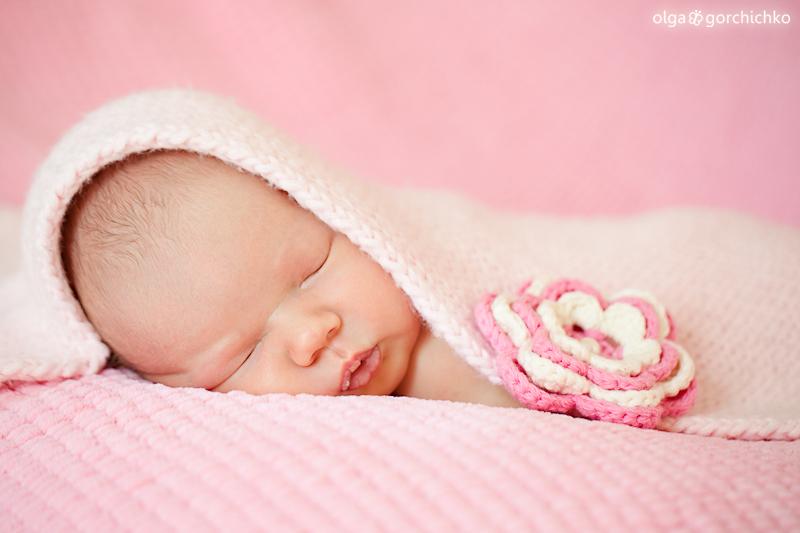 Фотосессия новорожденных. Малышка Лея