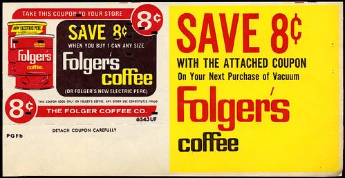Folger's Coffee, 1968