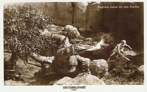 Die Nibelungen, Siegfrieds kampf mit den Drachen