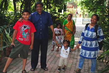 Family at Deer Park