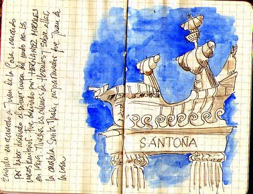 monumento a Juan de la Cosa, Santoña