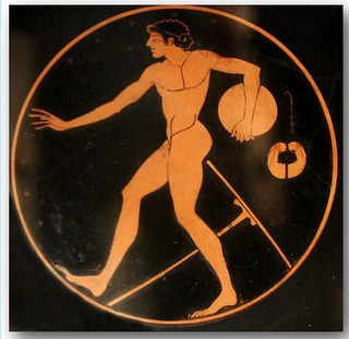 Ancient Greek pottery decoration 25