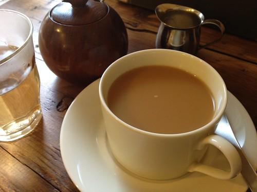 食後のコーヒー。@cafe Birdbath