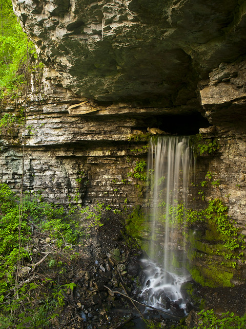 Big Creek Cave Falls