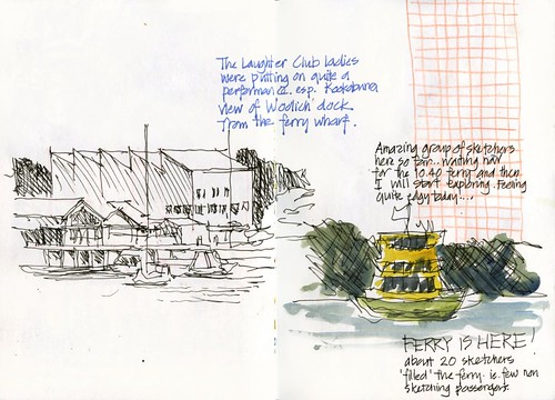 120421 Sketchcrawl35_02 Ferry Ride