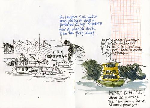 120421 Sketchcrawl35_02 Ferry Ride
