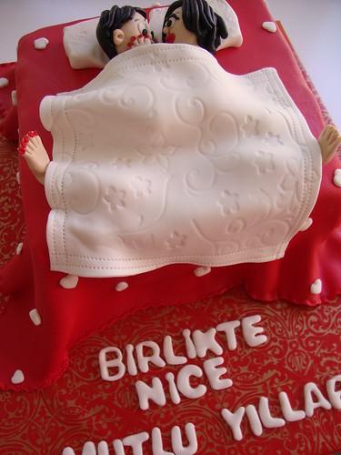 Yatak Pasta ,Bed Cake