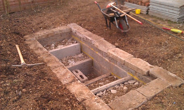 Garden ponds pictures and tips for construction please for Pond building tips