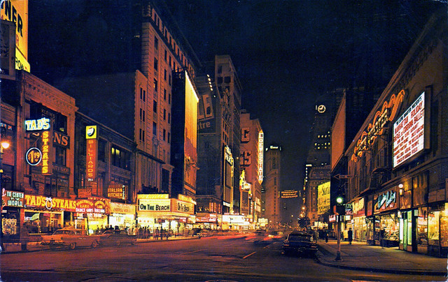 seventh avenue new york city 1960s