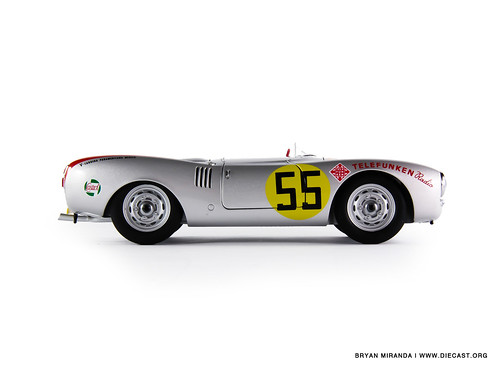 "Porsche 1954 550-1500 Spyder Panamericana ""Herrmann"""