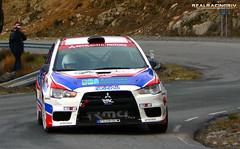 "III RallySprint ""San Segundo"" 2012 - Eugenio Pelaez Cosme/Rodolfo Rodríguez Álvarez - Mitsubishi Lancer Evo X"